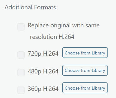 Choose From Library